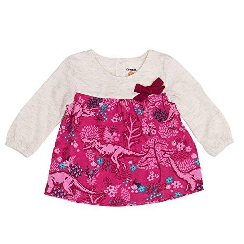 Desigual T-Shirt Manga Larga bebé-niñas XX-Small Beige