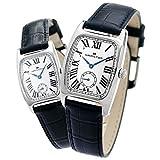[ハミルトン]HAMILTON 腕時計 ペアウォッチ ペアボックス付き ラッピング付き アメリカン クラシック ボルトン 28mm 24mm H13421611 H13321611 メンズ レディース [並行輸入品] [並行輸入品]