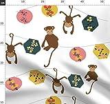 Affe, Chinesisches Neujahr, Sternzeichen, Tiere, Laternen,
