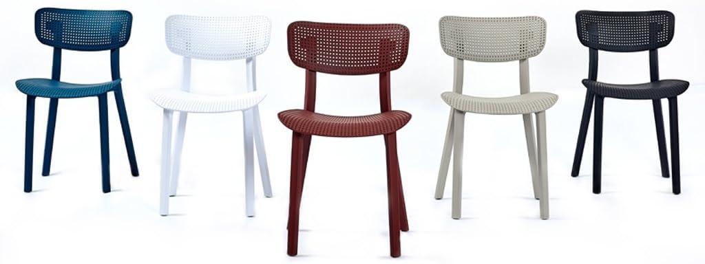 WDX- Chaise de salle à manger de loisirs main courante Siège d'ordinateur minimaliste moderne mode (Color : C) A