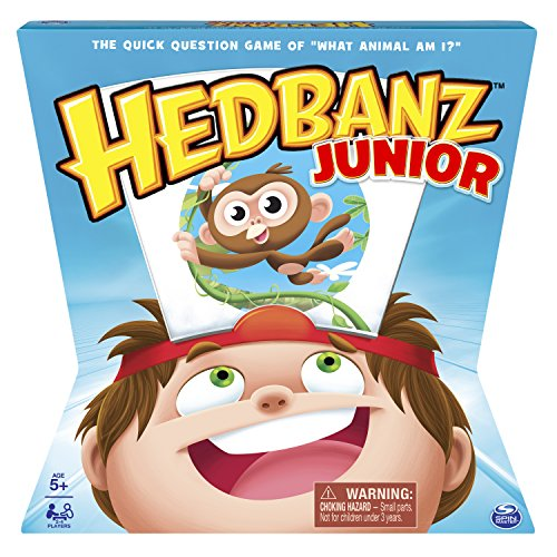 Spin Master Games HedBanz – HedBanz Jr. Family Board Game for Kids Age 5...