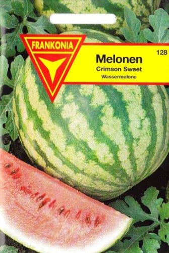Melonen, Crimson Sweet, Wassermelone, Cucumis melo, ca. 6 Samen