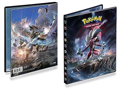 Asmodee – Pokemon Sole e Luna 2 - Porta tessere, 10 pagine, fino a 80 schede, formato A5