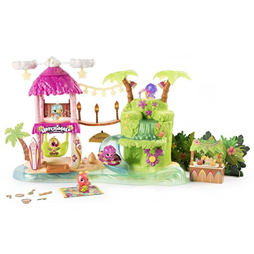 Hatchimals CollEGGtibles Tropical Party Spielset