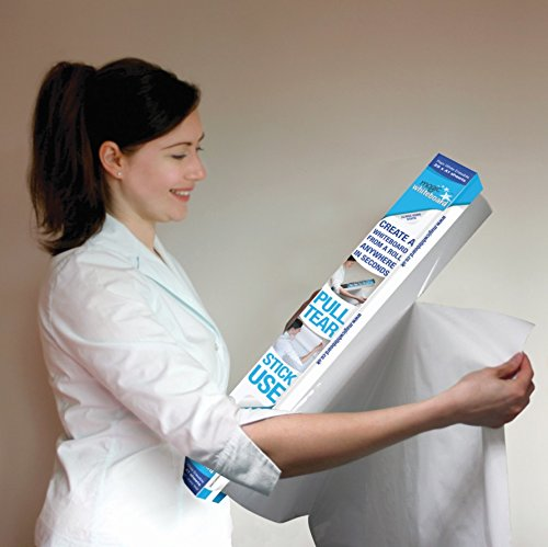 Magic Whiteboard - Reusable Sheets Sticks to Any Surface - 25 Sheets (A1) Perforated Roll