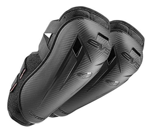 EVS Sports Option Black Coppia di gomitiere Leggere