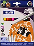 Milan 80093 - Rotuladores, 12 unidades