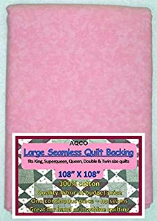 Quilt Backing, Large, Seamless, from AQCO, Pink Blend, C44395-101+