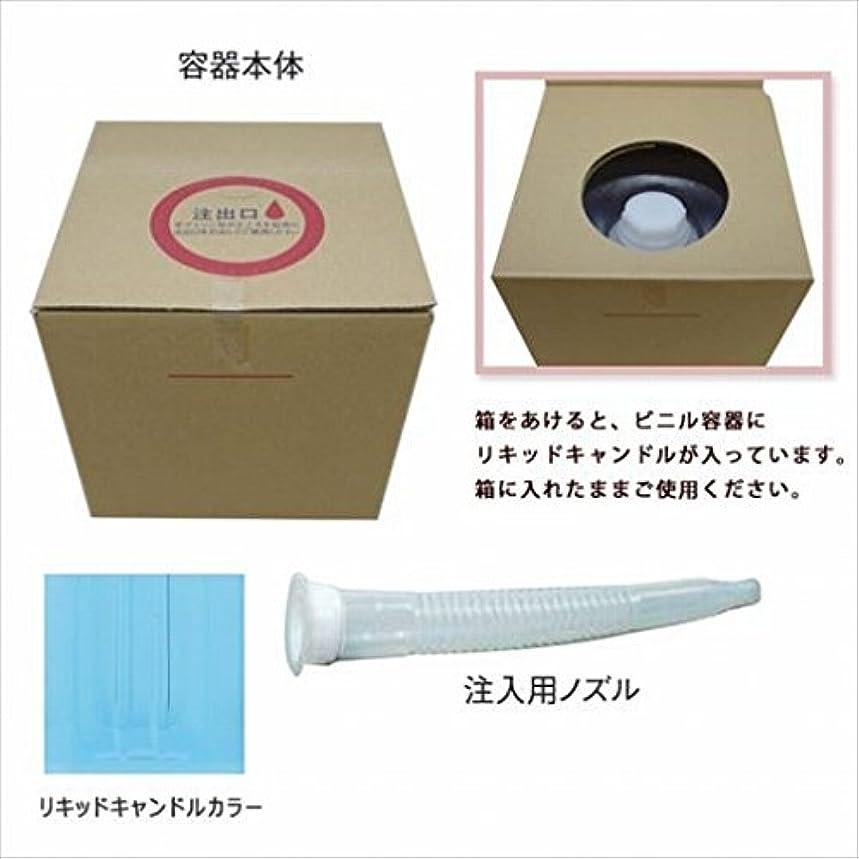 ビット体操ファイバカメヤマキャンドル(kameyama candle) リキッドキャンドル5リットル 「 ライトブルー 」