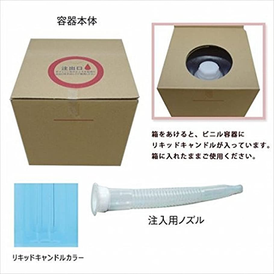 偽善者高速道路のホストカメヤマキャンドル(kameyama candle) リキッドキャンドル5リットル 「 ライトブルー 」