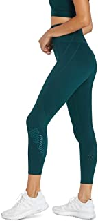 Rockwear Activewear Women's Ag Perforated Logo Tight Dark Teal 14 from Size 4-18 for Bottoms Leggings + Yoga Pants+ Yoga T...