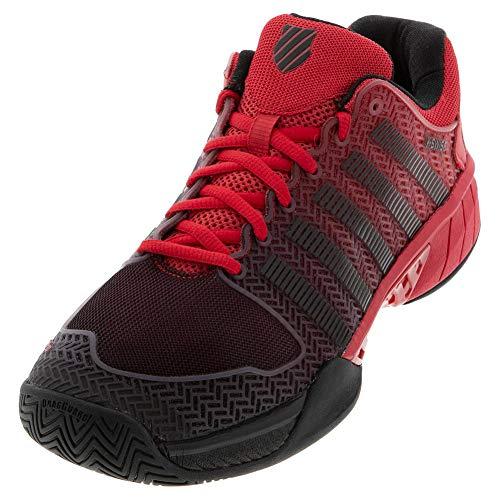 K-Swiss Hypercourt Express Mens Tennis Shoe - Lollipop Red/Black - Size 7