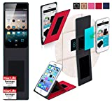 Cover for Meizu MX4 Pro Case | in Red | Multifunctional