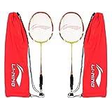 Li-Ning XP90SET2 Aluminum Badminton Racquet Combo (Multicolour)