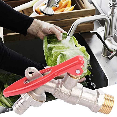 Grifo de agua con cerradura para jardín, césped, interruptor de agua, grifo de jardín, grifo de agua, grifo con llave, llave de una sola manija grifo de 1/2 pulgada rosca de agua grifo