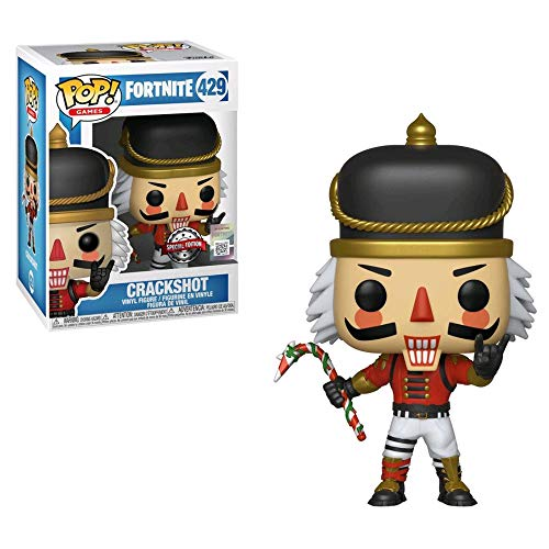 Funko - Fortnite-Crackshot - Figura Decorativa, Multicolor, 34977