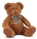 Melissa & Doug Chestnut - Classic Teddy Bear Stuffed Animal