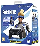 Manette Dual Shock 4 V2 pour PS4 - Noir + Code Fortnite (Digital)