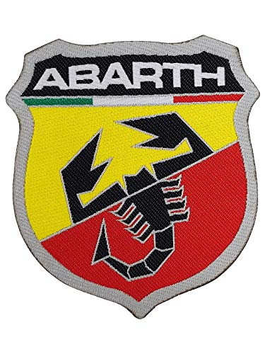 Abarth Patch Escudo 74 x 80 mm