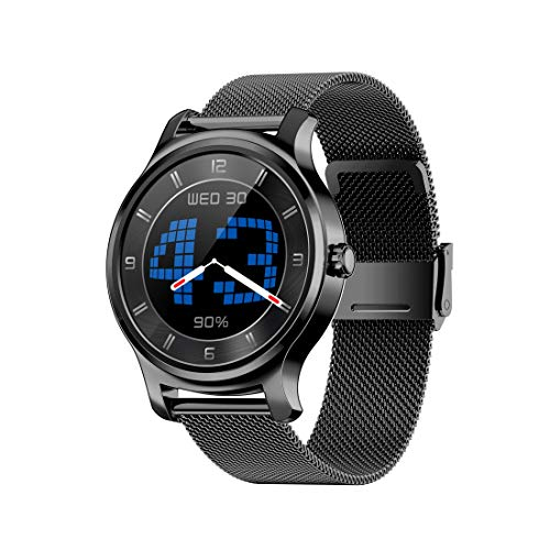 Rastreadores de actividad SMA-R2 1.3 pulgadas Pantalla IPS Watch Smart Watch IP65 impermeable, compatible con la llamada / RECORDATORIO DE MENSAJE / MODO DUAL BLUETOOTH 3.0 + 4.0 / Monitoreo para dorm