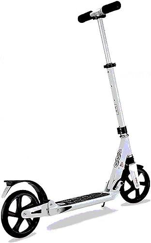 mejor precio Patinete Patinete Patinete Aluminio -Plegable Monopatín Scooter para Ciudad Altura Ajustable Freestyle City Kick Scooter Rueda Grande para Adultos y Niños  la red entera más baja