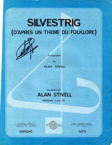 SILVESTRIG ALAN STIVELL PARTITION INTERSONG TUTTI 1972