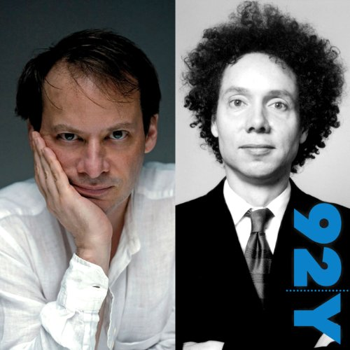 Adam Gopnik and Malcolm Gladwell audiobook cover art