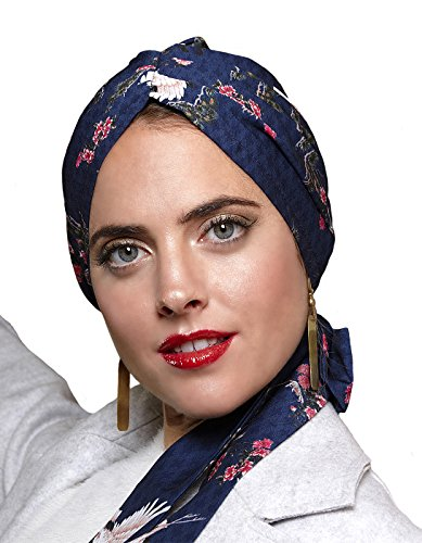 Belle Turban Reine P Pañuelo para la cabeza, Multicolor (Dance), One Size (Tamaño del fabricante:One Size) para Mujer