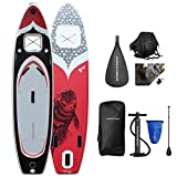Sportstech 'Firefish' Inflatable Stand Up Paddle Board with Kayak Conversion Seat Comes with Extra...