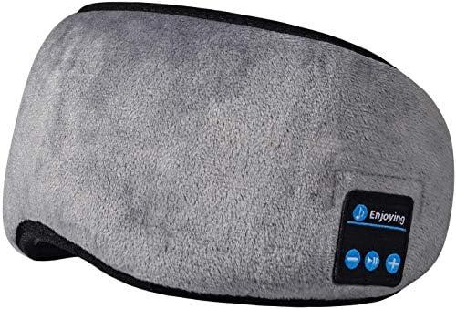 Sleep Headphones Sleep Headband Bluetooth Eye Sleep Mask Sleeping Wireless Music Soft Plush product image