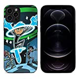 Danny Phantom Lightweight Apple iPhone 12 Cases Covers, Shockproof Full-Body Protective Case for iPhone 12/12 pro max case, Phone Case Back Cover for 11 12 pro-Max 12 Mini Cover
