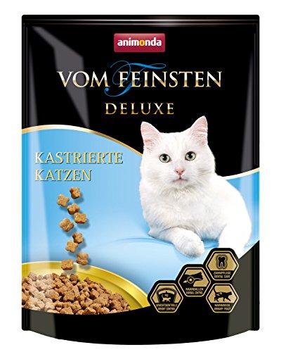 animonda Vom Feinsten Deluxe Adult Katzenfutter, Trockenfutter für kastrierte Katzen, aus Geflügel, 250 g