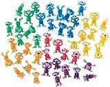 100 Funny Monkeys ~ Tiny Plastic Monkey Figures Bulk Bag 100 Party Favors