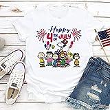 Shirt Peanut Snoopys Happy 4th Of July Shirt...