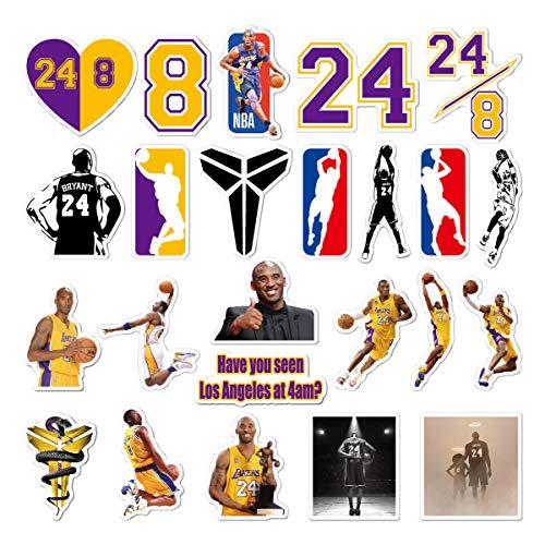 30 piezas Pegatinas de la NBA Baloncesto Equipo Logotipo Conjunto Divertido Creativo DIY Pegatinas Calcomanías Paquetes para botella de agua Laptop Celular Patineta Bicicleta Motocicleta Coche