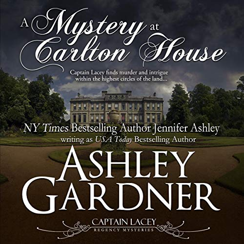 A Mystery at Carlton House audiobook cover art