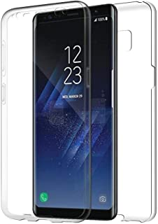 Samsung Galaxy S7 Edge Case 360 Degree Soft Silicone TPU Front & Hard Plastic PC Back Protective Clear Ultra Slim Case Cov...