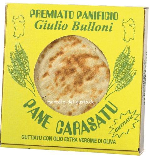 Bulloni Pane Guttiatu / Sardisches Brot mit Olivenöl & Salz 250 gr.