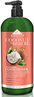 EXCELSIOR BOTANICAL HAIR SYSTEMS Coconut Oil Therapeutic Hair Care Revitalizing Conditioner Color Safe Formula, 33.8 Fluid Ounce