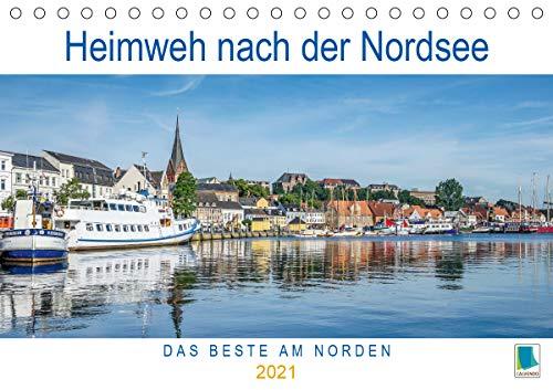 Heimweh nach der Nordsee (Tischkalender 2021 DIN A5 quer)