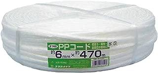 ユタカ 荷造り紐 PPコード大巻 6mm×470m PCT200
