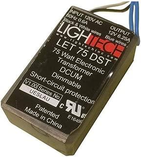 GE 66948 - 75 watt Output 120 volt Input Electronic Halogen Transformer (GELT75A12012TM 66948)