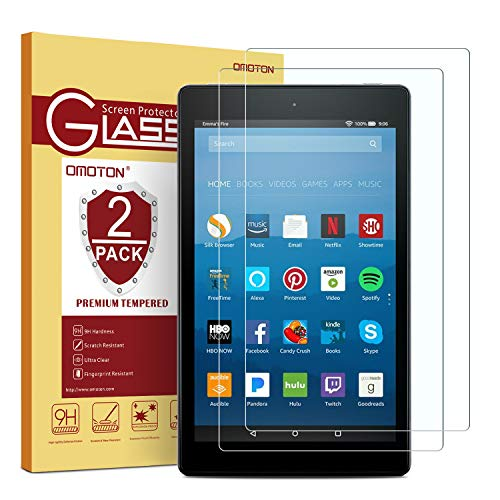 [2-Pack] OMOTON Screen Protector for All-New...