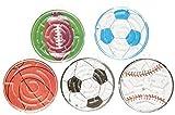 KSS 8 x Geschicklichkeitsspiel Fußball Kugelspiel Labyrint Kindergeburtstag Mitbringsel Mitgebsel der Klassiker 6 cm Durchmesser !