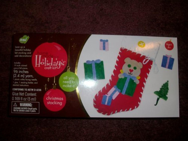 Con precio barato para obtener la mejor marca. NCI International Homemade for the the the Holidays Craft Kit Christmas Stocking  protección post-venta