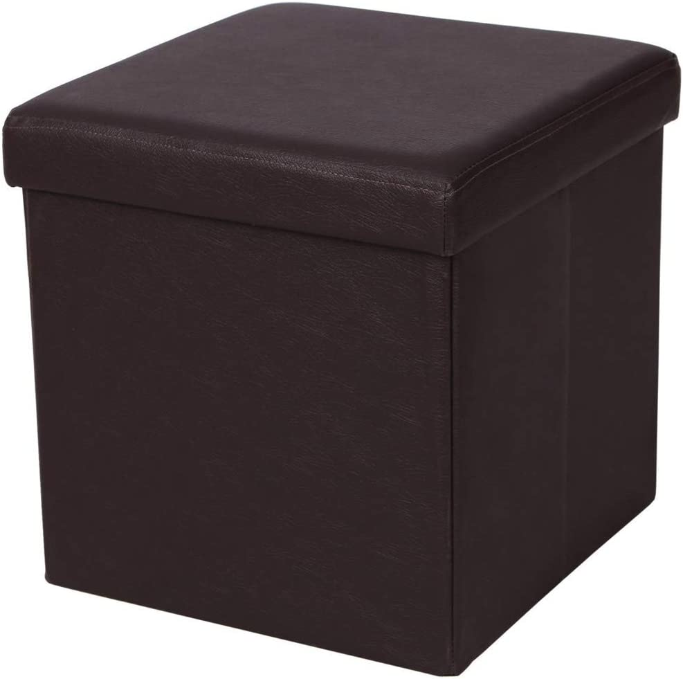 PU Storage Ottoman Foldable Max 90% OFF Foot Res with price Cube