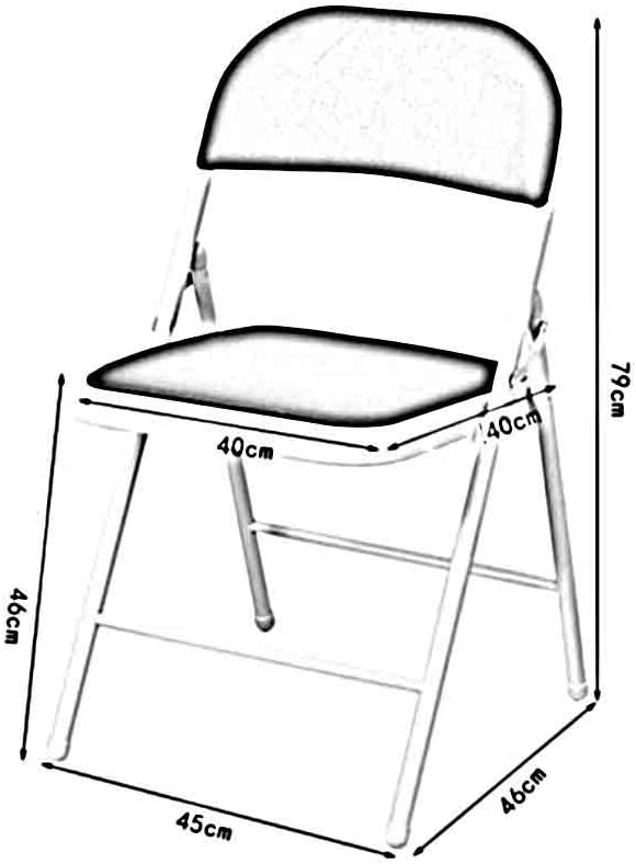 YCSD Chaise Pliante En Maille, Chaise D'ordinateur De Bureau À Domicile, Président Du Personnel De Conférence (Couleur : Gray) Gray