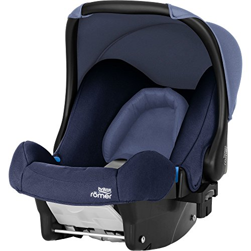 Britax Römer Silla de coche Nacimiento - 13 meses, 0 - 13 kg, BABY-SAFE Grupo 0+, Moonlight Blue