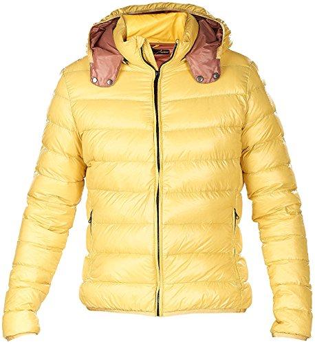 PEARL outdoor Jacken: Ultraleichte Steppjacke mit Daunen, Größe L, savannengelb, Unisex (Daunen-Steppjacke Damen)