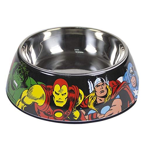 Cerdá - For Fan Pets, Comedero para Mascotas de Avengers - Licencia Oficial Marvel, Multicolor, s
